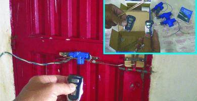 como hacer una cerradura electronica casera