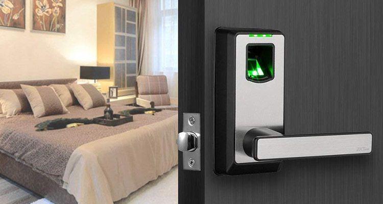 cerradura electronica biometrica