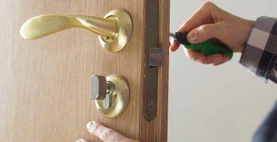 Como cambiar cerradura